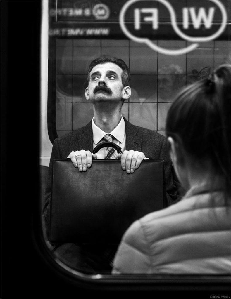 Московское метро. Простой русский интеллигент
